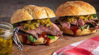 Amazing Iberico Abanico sandwich