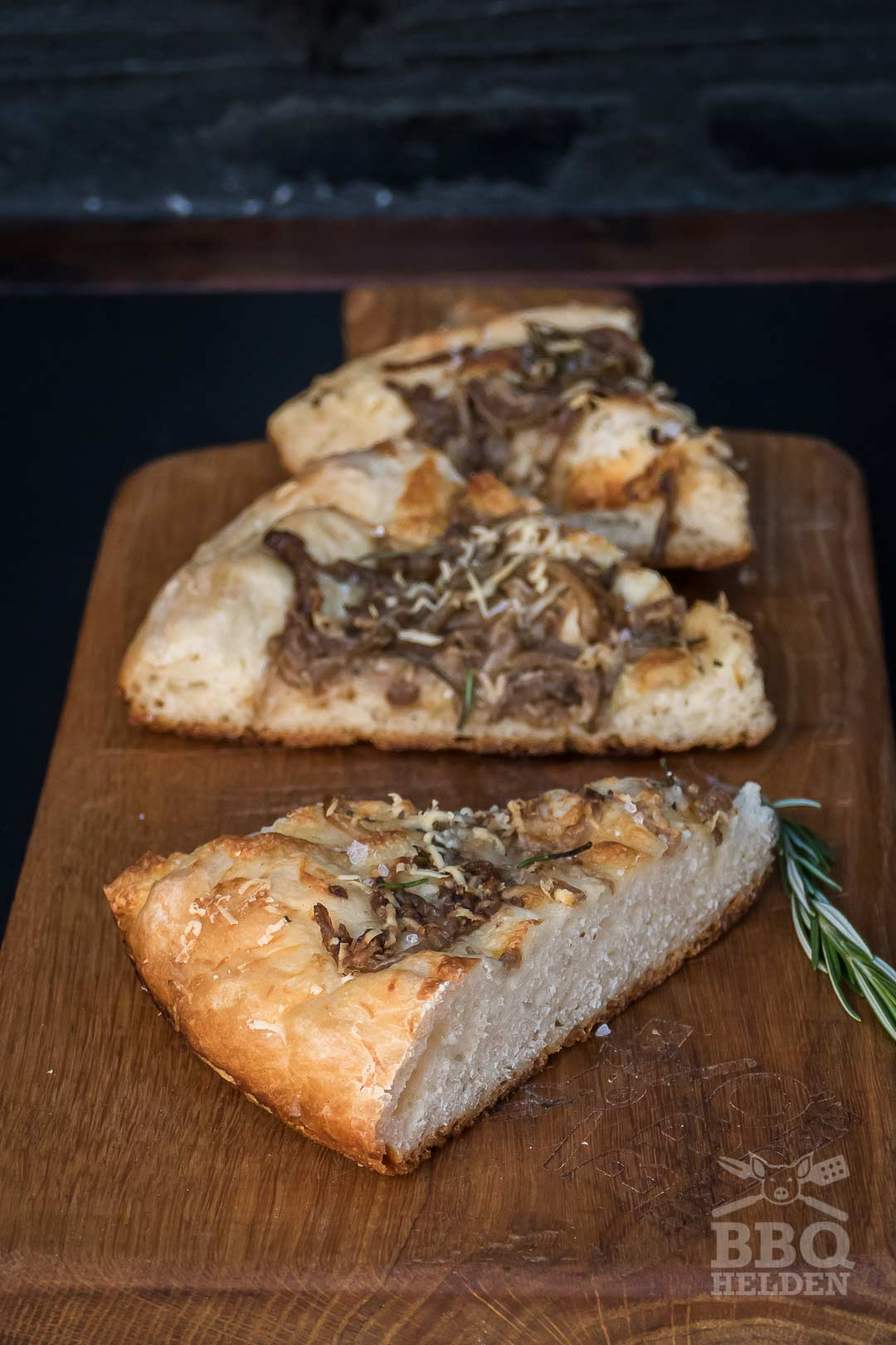 cheese onion focaccia