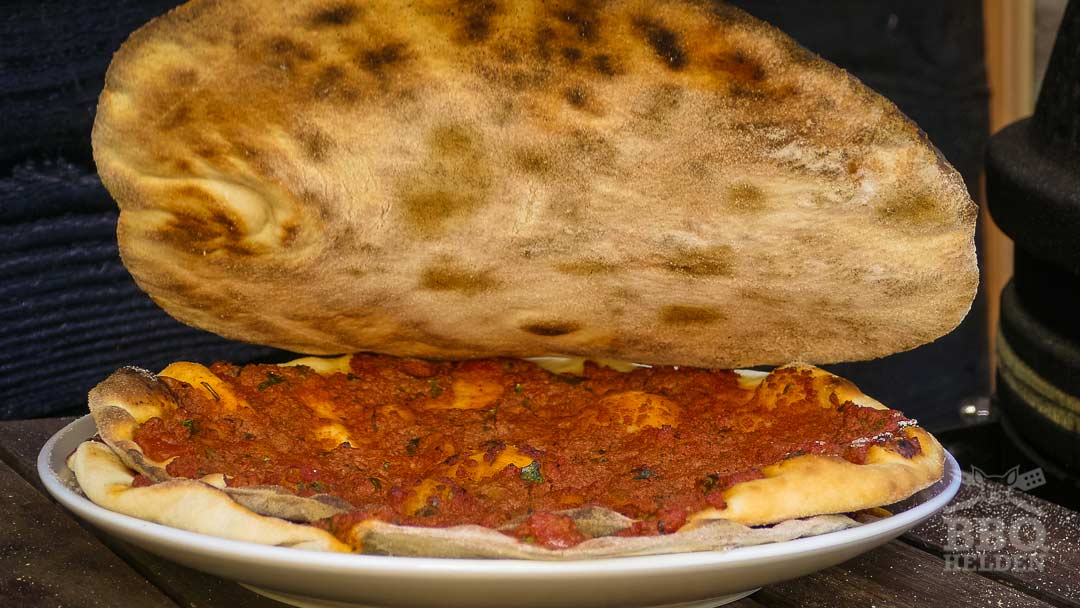 crust of lahmacun