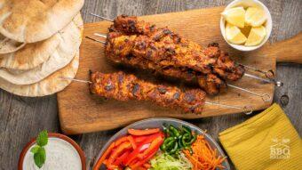 Doner kebab from chicken thighs