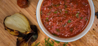 The easiest fire-roasted salsa