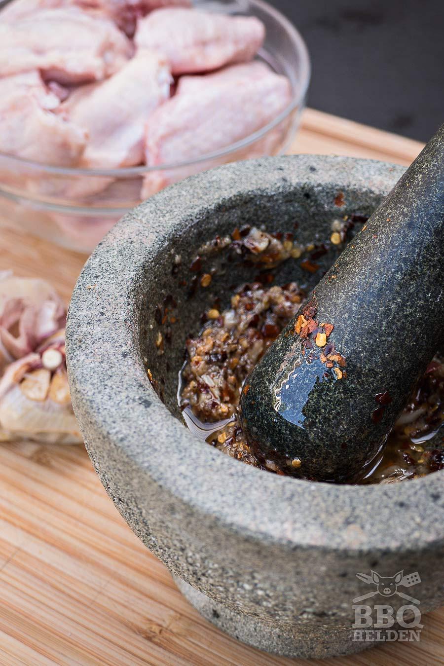 garlic marinade for chickenwings