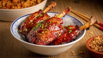 General Tso's Pig Wings
