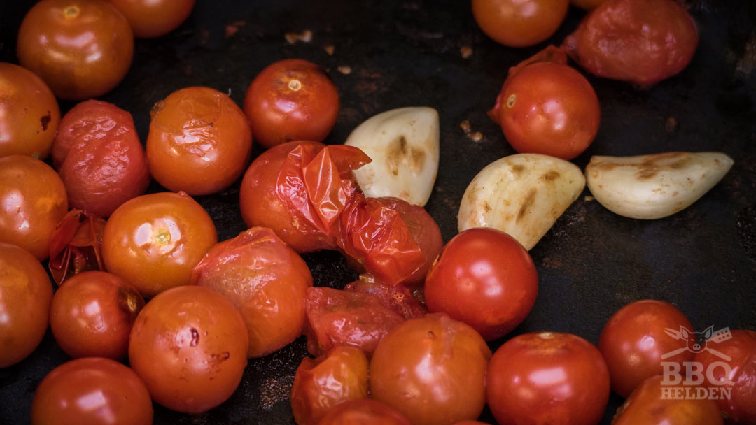 grilled cherrytomatoes