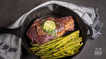 How to grill an expensive ribeye steak