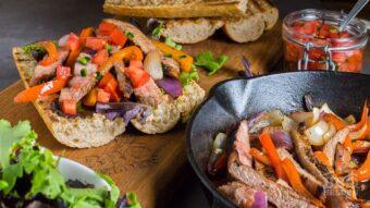 Iberico pork baguette