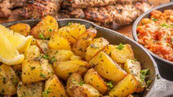 Lemon butter roasted potatoes
