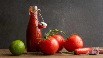 Mild tomato red pepper salsa