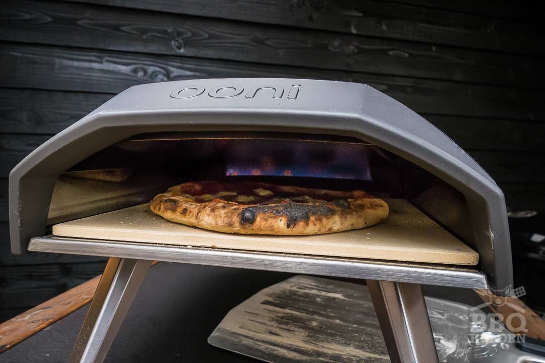 pizza in the ooni koda