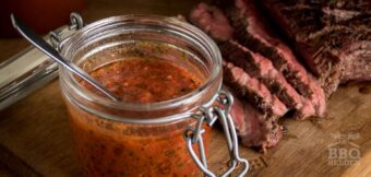 Red Chimichurri as salsa or marinade