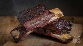 Short ribs from the rotisserie