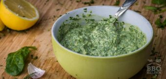Salsa verde mayonnaise