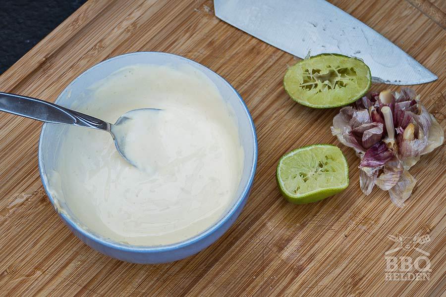 garlic mayonaise for garlic chickenwings