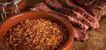 Spicy steak rub