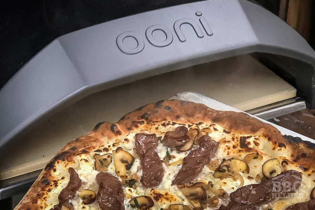 wagyu pizza from the ooni koda