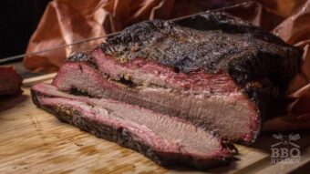 Hot and fast whole packer brisket